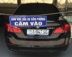 Cần bán BMW 523i sản xuất 2012, màu đen, xe nhập chính chủ giá 1 tỷ 400 tr tại Hải Phòng