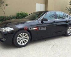 Bán xe BMW 5 Series đời 2012, màu đen, nhập khẩu, số tự động giá 1 tỷ 299 tr tại Hà Nội