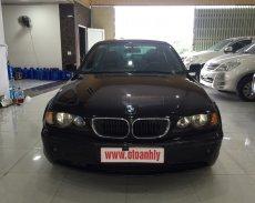 Cần bán xe BMW 3 Series 318i 2002, màu đen số sàn giá 225 triệu tại Phú Thọ