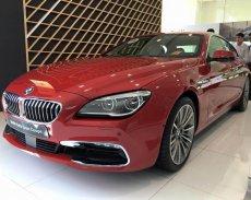 Cần bán BMW 6 series đời 2017, màu đỏ, nhập khẩu, full option. Tặng ưu đãi lớn giá 4 tỷ 230 tr tại Đà Nẵng