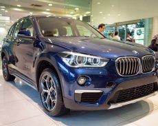BMW X1 sDrive18i 2017, màu xanh. BMW Đà Nẵng bán xe BMW X1 nhập khẩu chính hãng, giá rẻ nhất tại Quảng Ngãi giá 1 tỷ 735 tr tại Quảng Ngãi