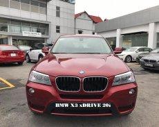 BMW X3 xDrive20i 2017, màu đỏ. BMW Đà Nẵng bán xe BMW X3 nhập khẩu chính hãng, giá rẻ nhất tại Kon Tum giá 2 tỷ 63 tr tại Kon Tum