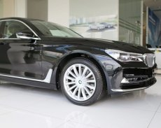 BMW 7 Series 740Li 2017, màu đen. BMW Đà Nẵng bán xe BMW 740Li giá rẻ nhất Ninh Thuận, có xe giao sớm nhất giá 4 tỷ 998 tr tại Ninh Thuận