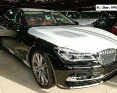 Bán BMW 7 Series 740Li model 2017, màu đen mui trắng, nhập khẩu nguyên chiếc giá 4 tỷ 998 tr tại Quảng Bình