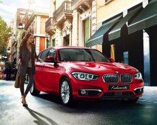 Bán ô tô BMW 1 Series 118i đời 2017, màu đỏ, nhập khẩu chính hãng giá 1 tỷ 328 tr tại Bình Định