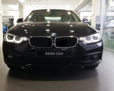 Bán xe BMW 3 Series 320i đời 2017, màu đen, nhập khẩu nguyên chiếc giá 1 tỷ 468 tr tại Quảng Bình
