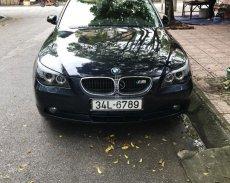Bán xe BMW 5 Series đời 2004, đăng kí lần đầu năm 2007 màu xanh lam, nhập khẩu giá 395 triệu tại Bắc Giang