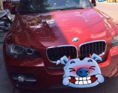 Bán BMW X6 đời 2008, màu đỏ, xe nhập giá 1 tỷ 80 tr tại Bình Định
