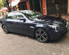 Bán BMW 5 Series 520i 2004, màu xanh lam, nhập khẩu nguyên chiếc giá 445 triệu tại Bắc Giang