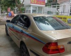Cần bán BMW 3 Series 318i đời 2002, màu vàng, nhập khẩu nguyên chiếc giá 155 triệu tại Quảng Ninh