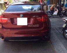 Định cư Mỹ cần bán xe BMW X6, màu đỏ, xe gia đình còn mới, bao test hãng giá 1 tỷ tại Bình Định