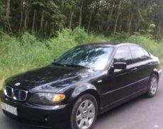 Bán xe cũ BMW 3 Series 318i đời 2002, màu đen giá 185 triệu tại Tây Ninh