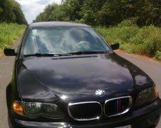 Bán BMW 3 Series 318i sản xuất 2002, màu đen, 190tr giá 190 triệu tại Tây Ninh