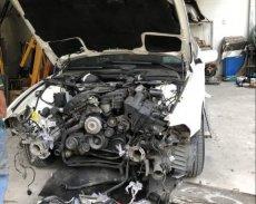 Bán BMW 525i sản xuất năm 2003, màu trắng, nhập khẩu   giá 150 triệu tại Tp.HCM