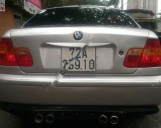 Cần bán xe BMW 3 Series 318i MT đời 2002, xe đang sử dụng rất tốt, đảm bảo còn zin 100% giá 200 triệu tại BR-Vũng Tàu