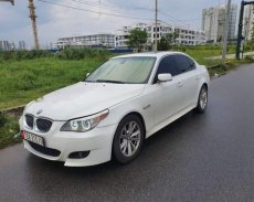 Bán BMW 5 Series 525i sản xuất 2005, màu trắng, nhập khẩu  giá 395 triệu tại Tp.HCM