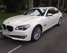 Bán BMW 750 LI 2013 tự động, màu trắng thể thao cực đẹp giá 2 tỷ 160 tr tại Tp.HCM