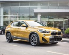 Xe BMW X2 2019, màu vàng, xe nhập khẩu nguyên chiếc, chính hãng mới 100% giá 1 tỷ 899 tr tại Tp.HCM