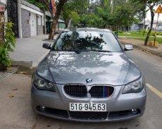 Bán ô tô BMW 5 Series 530i sản xuất 2004, màu xám, xe nhập giá 395 triệu tại Tp.HCM